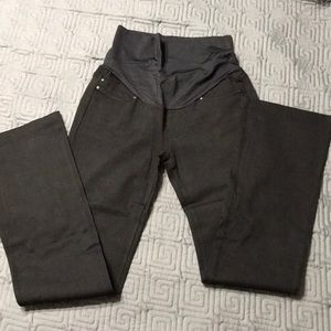 Liverpool maternity black bootcut slacks 2/26
